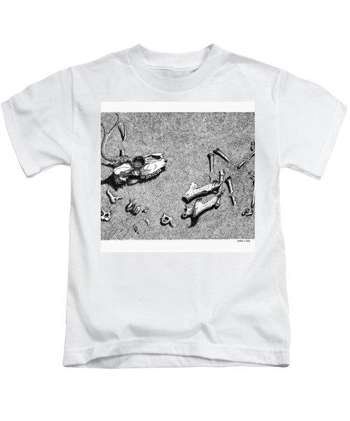 Deer Bones Kids T-Shirt