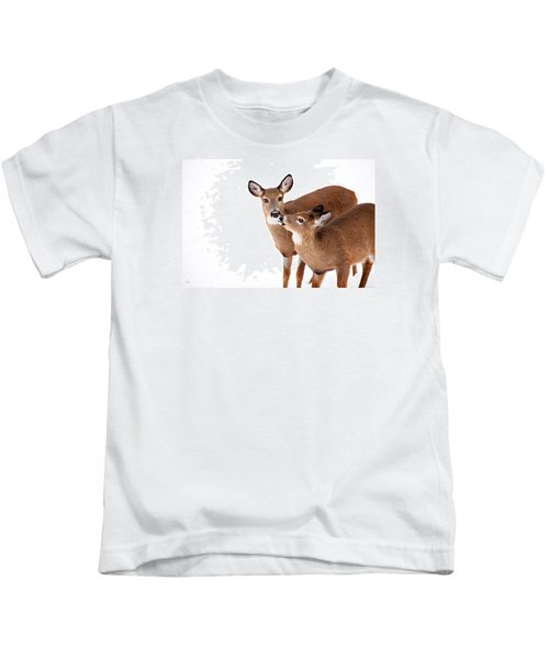 Deer Kisses Kids T-Shirt