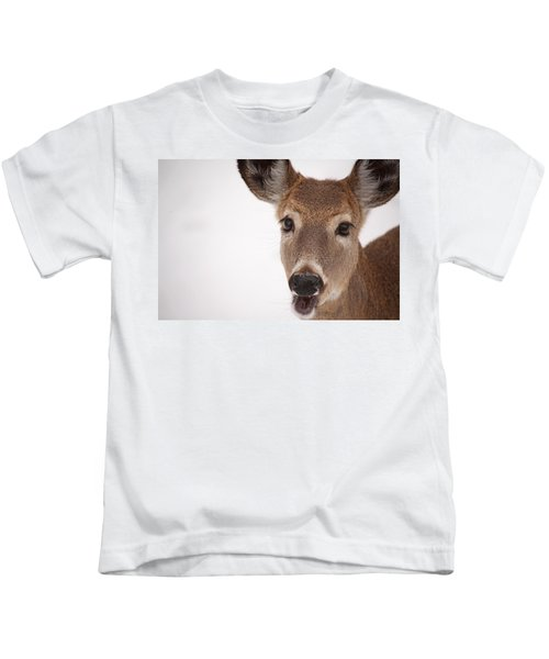Deer Talk Kids T-Shirt