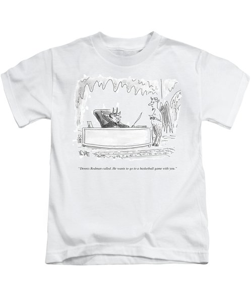 Dennis Rodman Called Kids T-Shirt