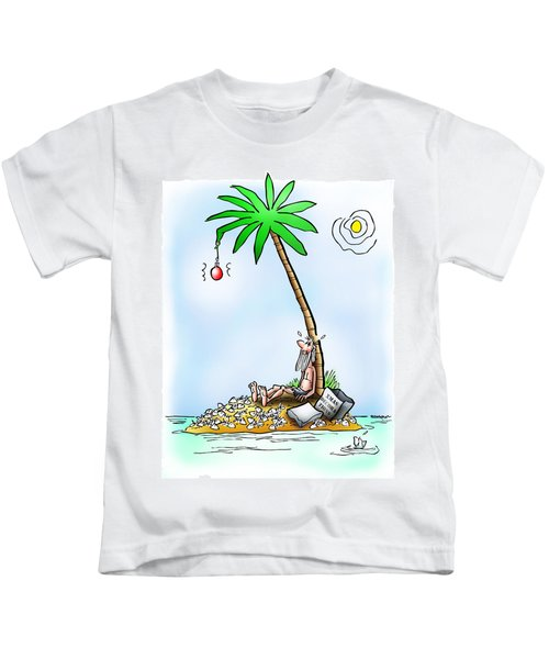 Desert Island Christmas Kids T-Shirt