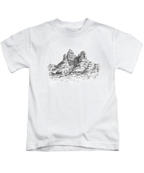 Desert Mountains Kids T-Shirt