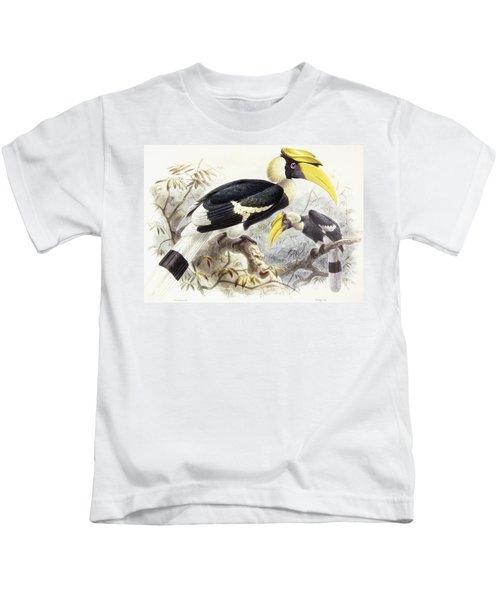 Dichocerus Bicornis Kids T-Shirt by Johan Gerard Keulemans