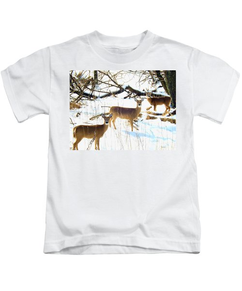 Does In The Snow Kids T-Shirt