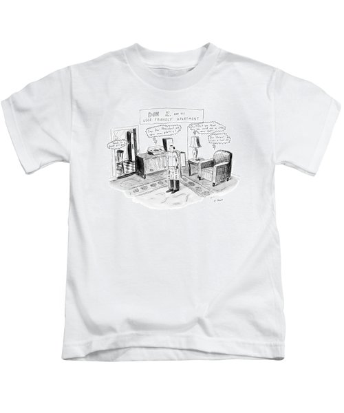 Don Z. And His User-friendly Apartment Kids T-Shirt