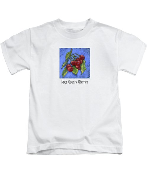 Door County Cherries Kids T-Shirt