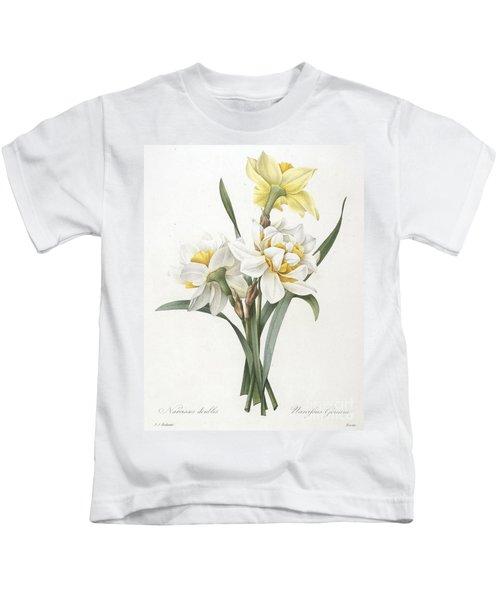 Double Daffodil Kids T-Shirt