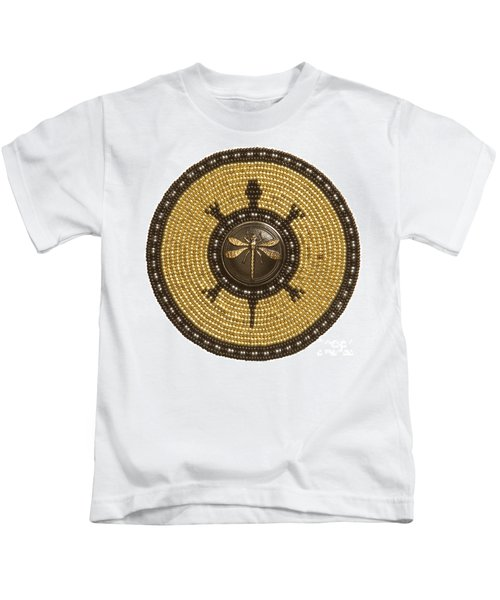 Dragonfly Turtle Kids T-Shirt