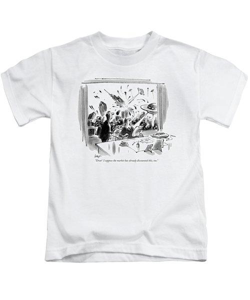 Drat!  I Suppose The Market Kids T-Shirt