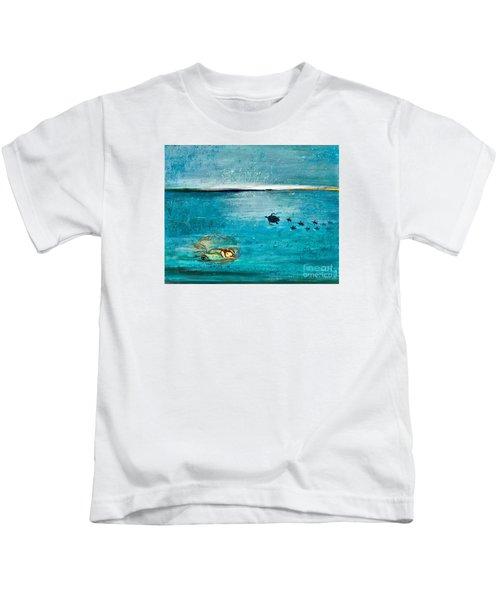 Dreaming Mermaid Kids T-Shirt