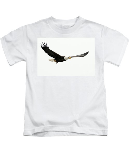 Eagle With Fish Kids T-Shirt