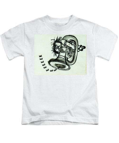 Eeeeeeek! Ink On Paper Kids T-Shirt