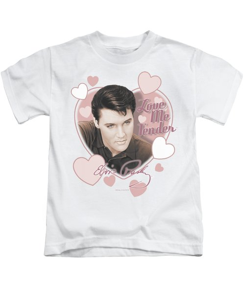 Elvis - Love Me Tender Kids T-Shirt