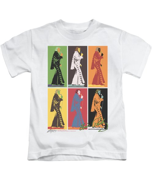 Elvis - Retro Boxes Kids T-Shirt