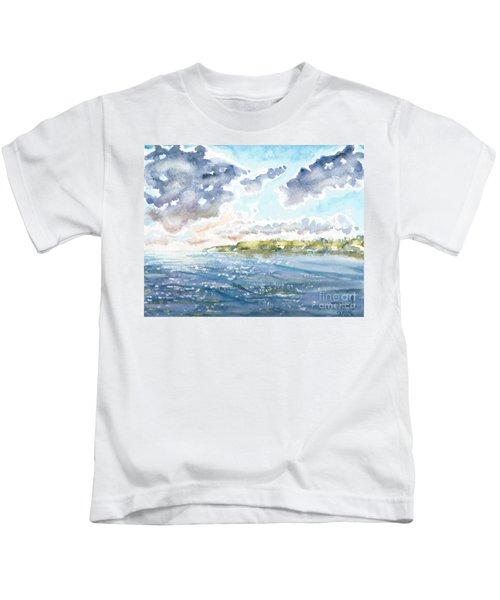 Emerging Sun  Kids T-Shirt