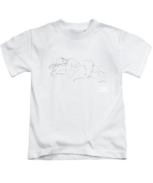 Erotic Art Drawings 2 Kids T-Shirt