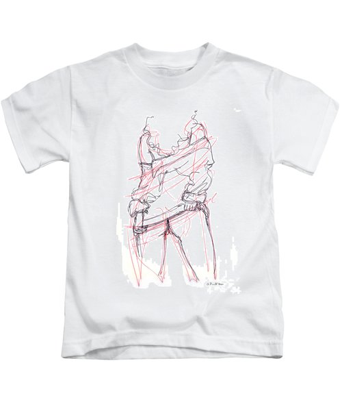 Erotic Art Drawings 6 Kids T-Shirt