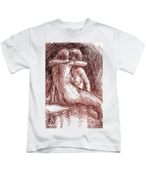Erotic Drawings 19-2 Kids T-Shirt