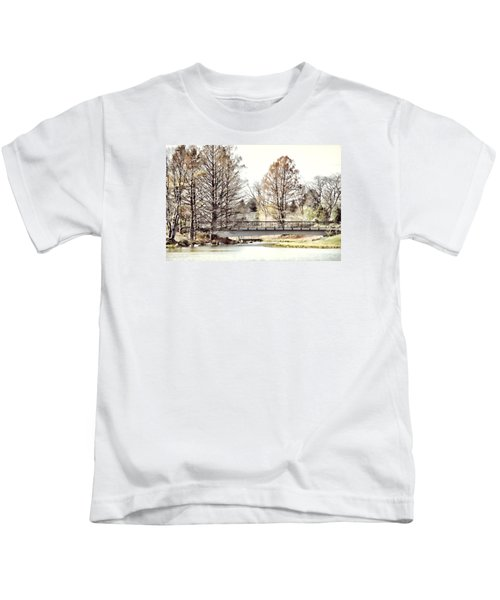 Fading Palette Of Fall Kids T-Shirt