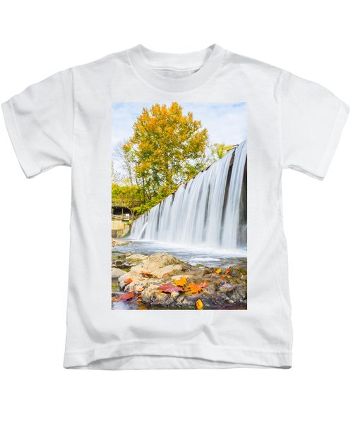 Fall At Buck Creek Kids T-Shirt