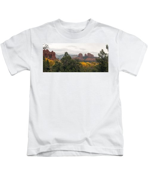 Fall Color Sedona 0495 Kids T-Shirt