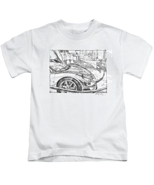Ferrari-saleen Study Kids T-Shirt