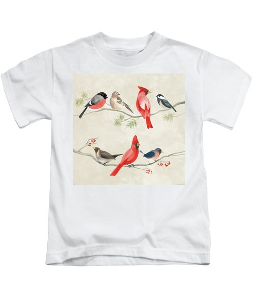 Festive Birds I Kids T-Shirt
