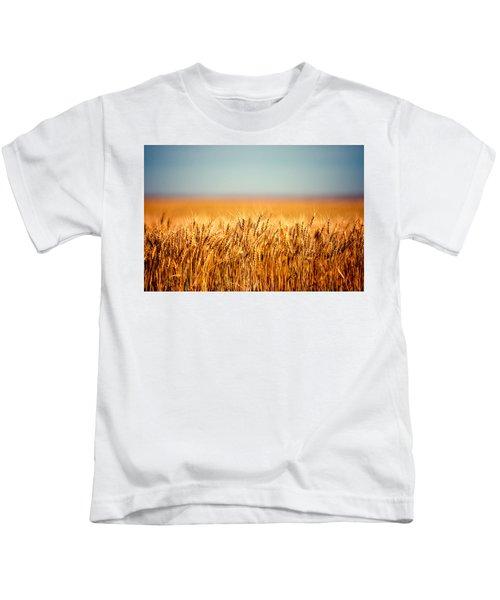 Field Of Wheat Kids T-Shirt
