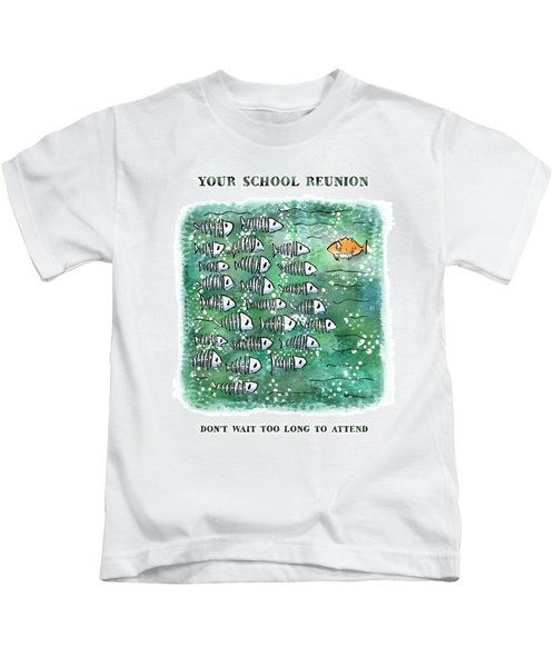 Fish School Reunion Kids T-Shirt