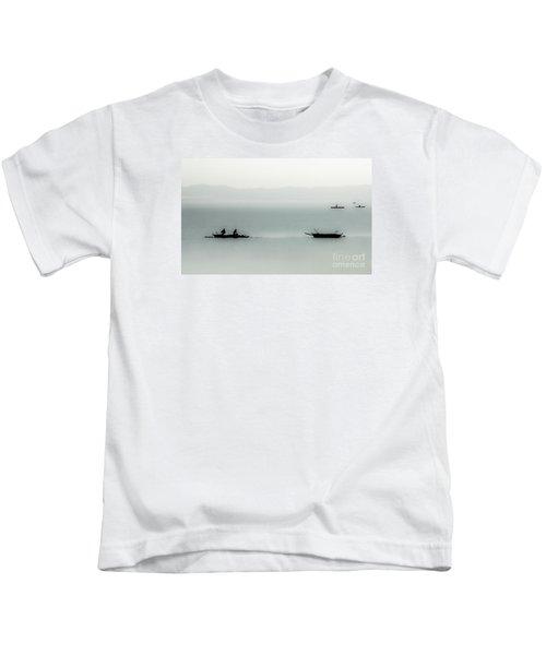 Fishing On The Philippine Sea   Kids T-Shirt