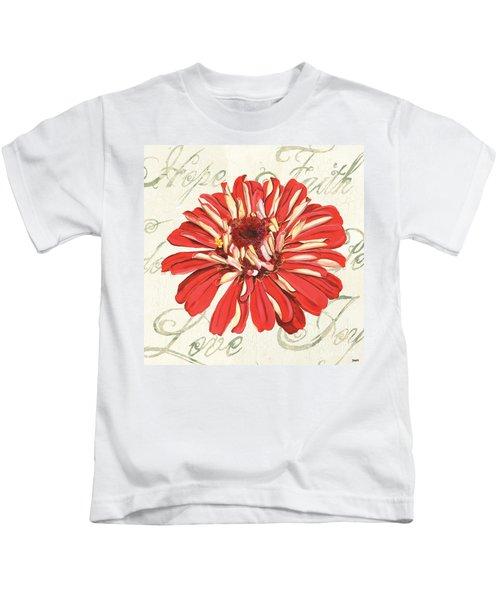 Floral Inspiration 1 Kids T-Shirt