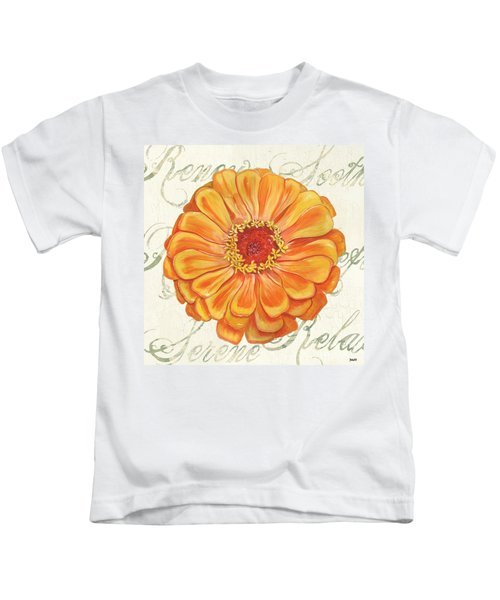 Floral Inspiration 2 Kids T-Shirt