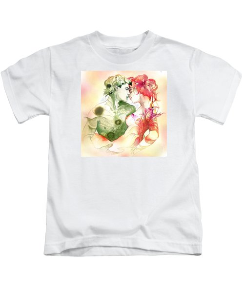 Flower And Leaf Kids T-Shirt