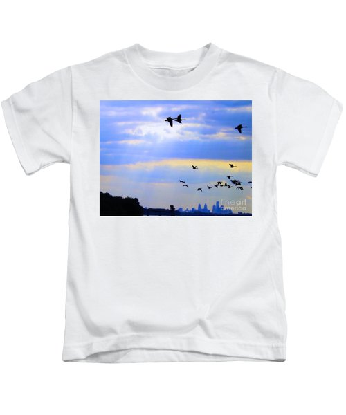 Fly Like The Wind Kids T-Shirt