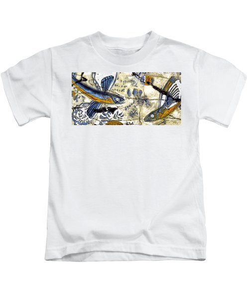 Flying Fish No. 3 - Study No. 1 Kids T-Shirt