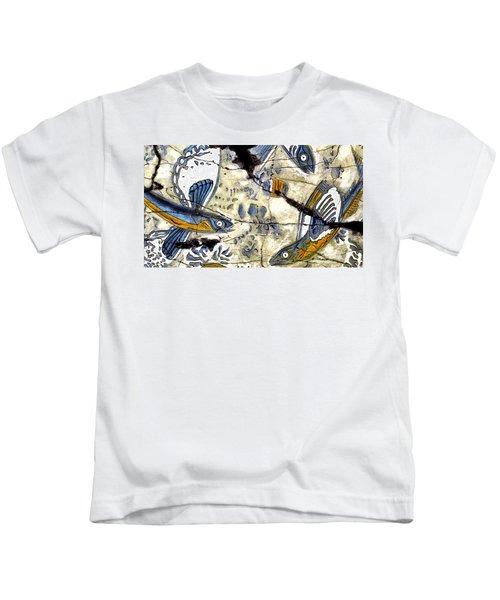 Flying Fish No. 3 - Study No. 2 Kids T-Shirt