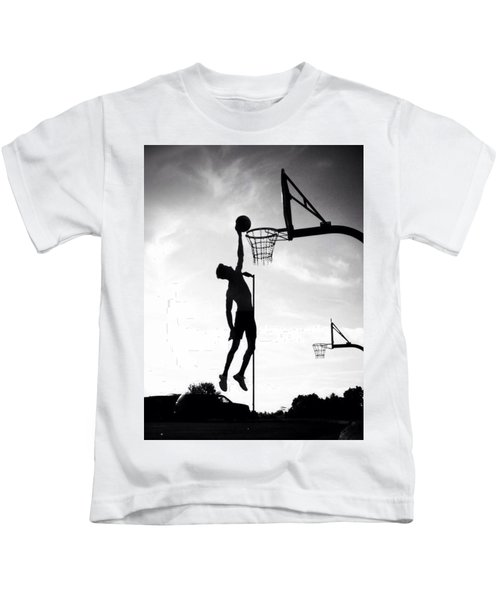 For The Love Of Basketball  Kids T-Shirt