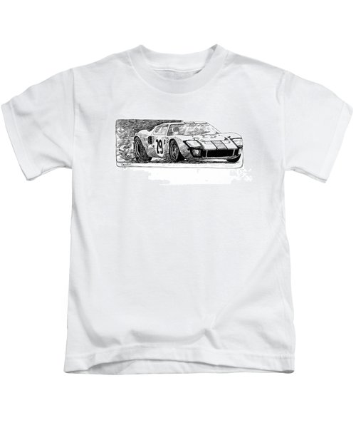 Ford Gt - 40 Kids T-Shirt