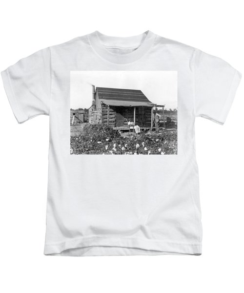 Former Slaves At Their Cabin Kids T-Shirt