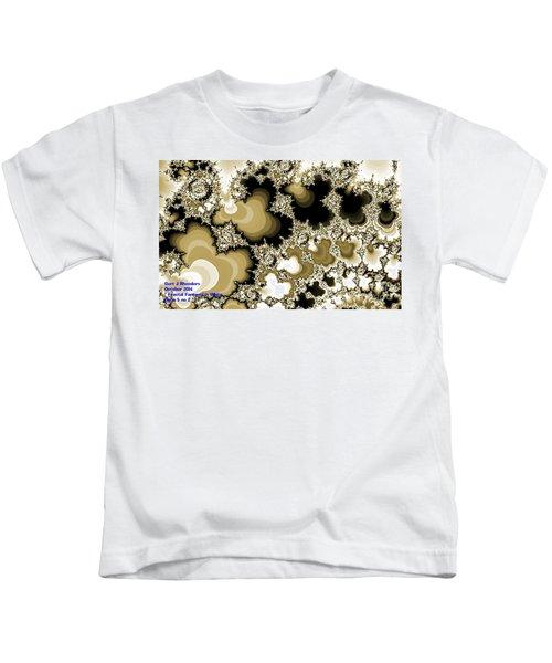 Fractal Fantasia In White Opus 5 No 2 H A Kids T-Shirt