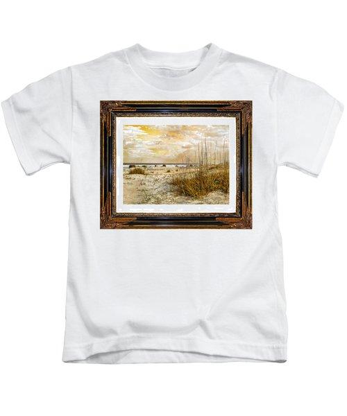 Framed Dunes Kids T-Shirt