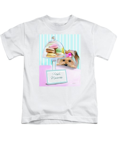 French Macarons Kids T-Shirt