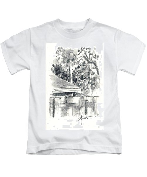 From The Breakfast Room Window Kids T-Shirt