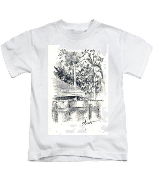 From The Breakfast Room Window Kids T-Shirt