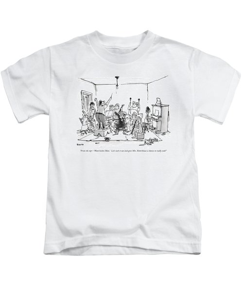 From The Top - 'watermelon Man.'  Let's Sock Kids T-Shirt