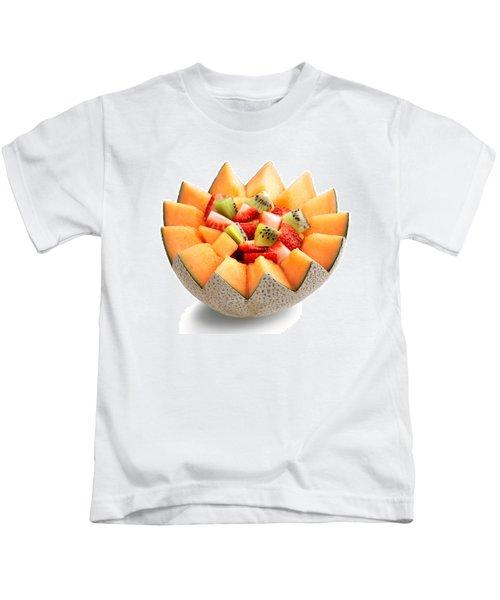 Fruit Salad Kids T-Shirt by Johan Swanepoel