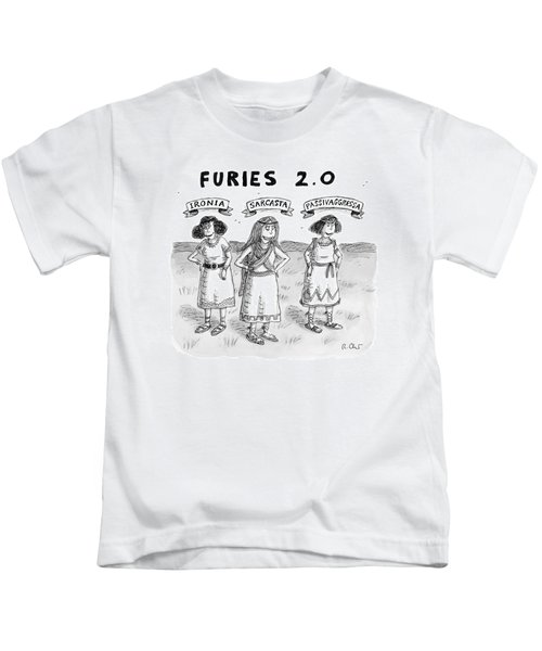 Furies 2.0 -- Ironia Kids T-Shirt
