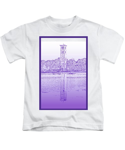 Furman Bell Tower Kids T-Shirt