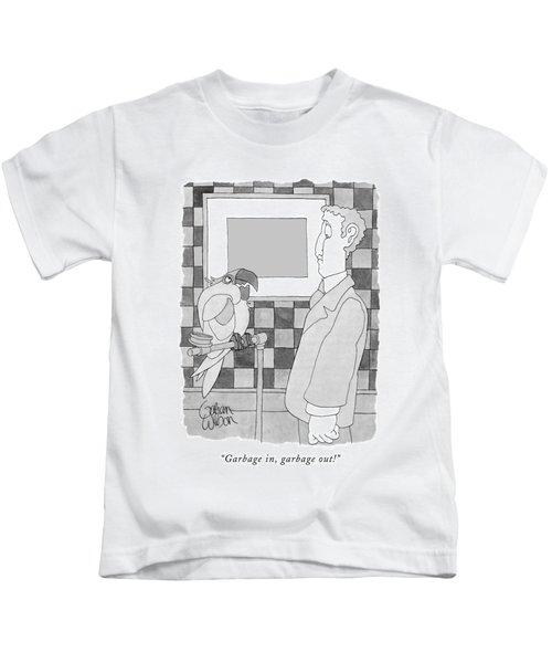 Garbage In, Garbage Out! Kids T-Shirt