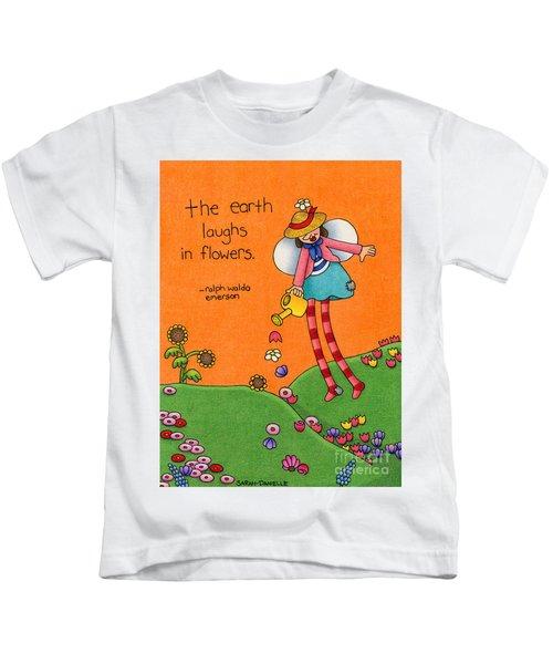 Gardener Angel Kids T-Shirt